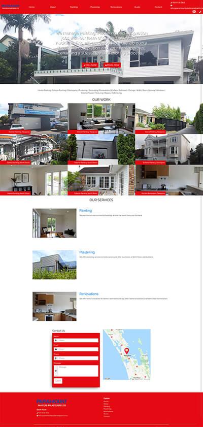 Service Warrior 1 dazzly website builder template